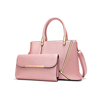 c3d053860ca3 Buy Lady Handbag Little Bow Leisure Shoulder Bag Purse (Pink) by Depend on  mood Online at Low Prices in India - Amazon.in