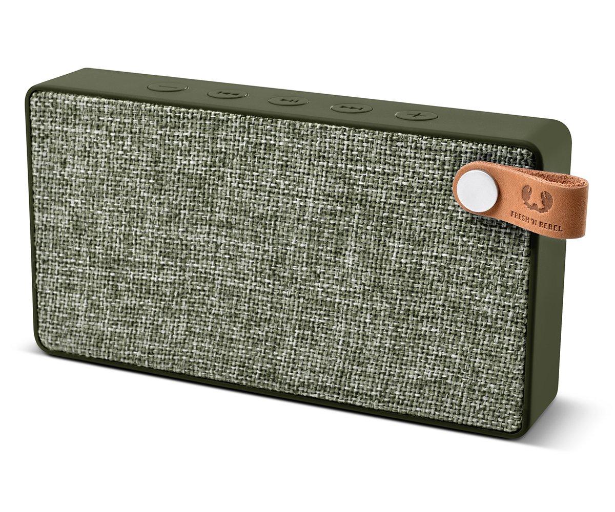 Altavoz port/átil con Bluetooth FreshN Rebel Rockbox Cube color turquesa