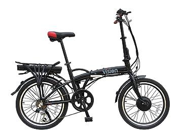 Viking Vision - Bicicleta eléctrica plegable con ruedas de 40,8 cm y batería de