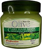 Hair Life Olive Hair Spa (Care Treat That Your Hair Need to Enrich Like Your Mom 's Hands) Love Of : 500 gm,With Exclusive Free Gift of Rose Perfume To (Make Your Day Like Roses (30 ml))