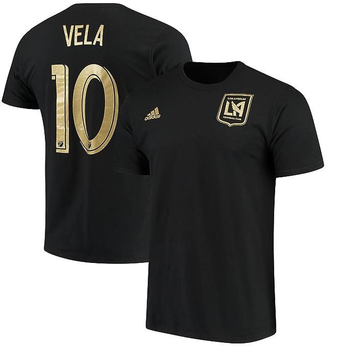 Amazon.com : adidas Carlos Vela Los Angeles FC #10 Mens ...
