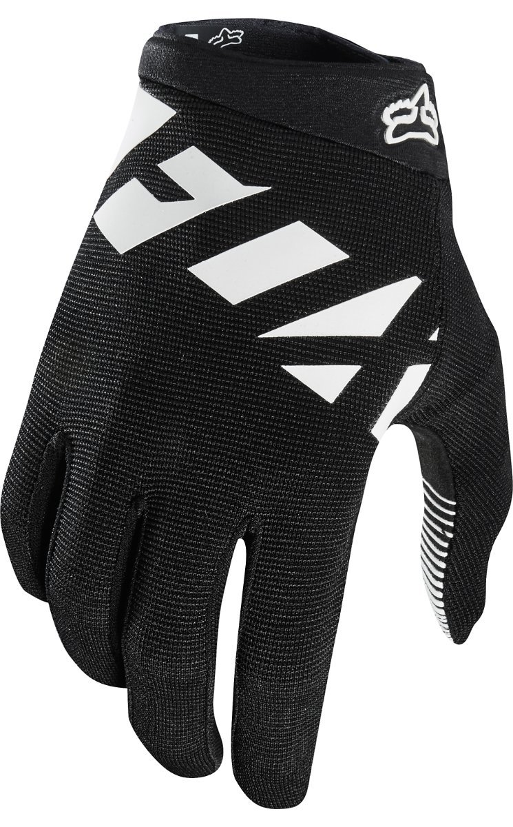 Fox Racing Ranger Glove - Kids' Black/White, M by Fox Racing (Image #1)