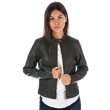 c25ff6d34382b0 Vero Moda Womens Soffy Faux Leather Jacket in Peat: Vero Moda ...