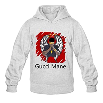 NEOLBOOS Hombres de Gucci Mane música Sudaderas con Capucha Sudadera tamaño US Color Blanco: Amazon.es: Deportes y aire libre