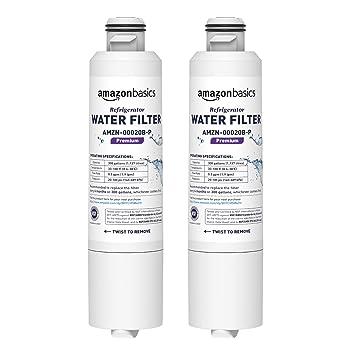 AmazonBasics - Filtro de agua de repuesto para frigorífico Samsung DA29-00020B - Filtración Premium: Amazon.es: Bricolaje y herramientas