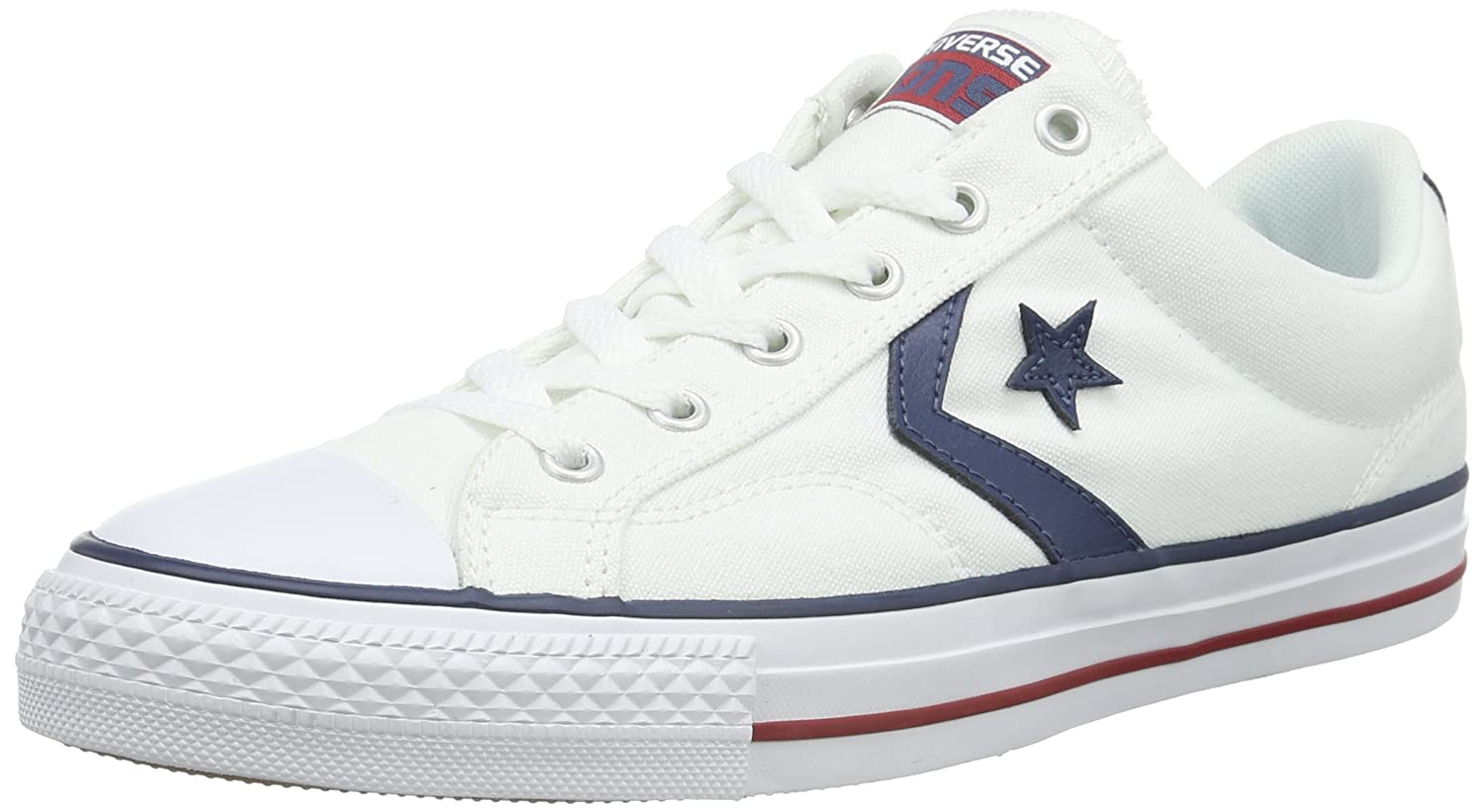 Converse Unisex-Erwachsene Star Player Ox Weiß Navy Low-Top