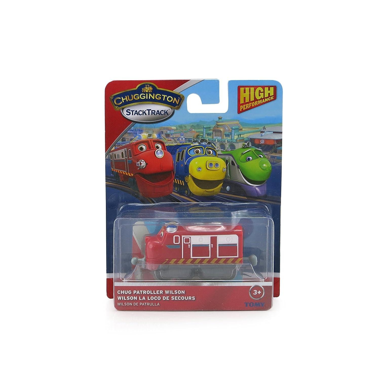 Amazon.com: Chuggington Stack Track Chug Patrol Wilson: Toys & Games