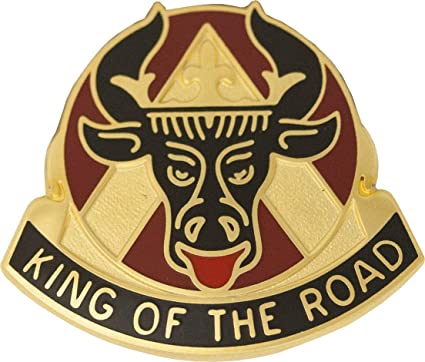 Amazon Com 812th Transportation Battalion Unit Crest King Of The Road Clothing