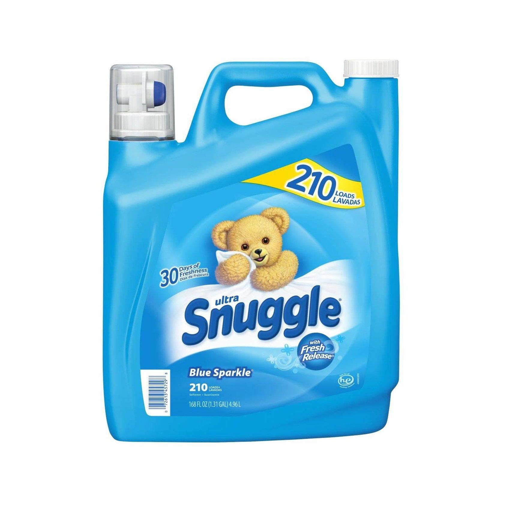 Amazon Com Snuggle Fabric Softener Dryer Sheets Blue