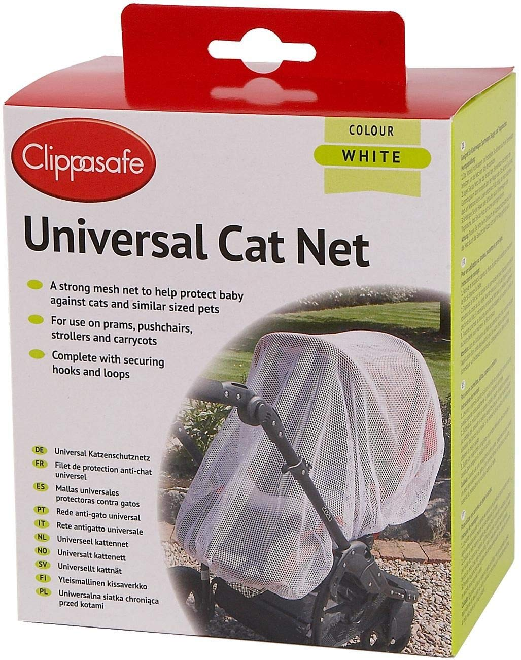 Clippasafe Pram Pushchair Universal Cat Net