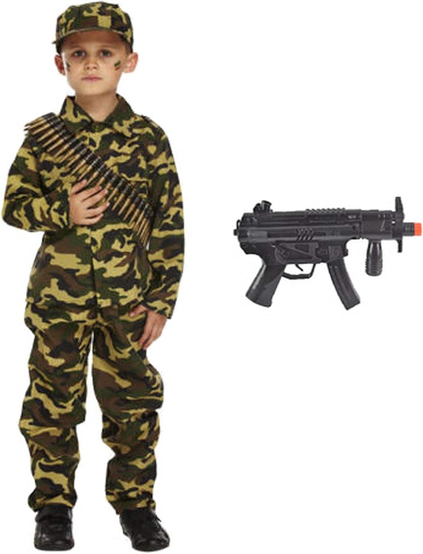 Forever Young Boys Kids Ejército Soldado Disfraz Disfraz de ...
