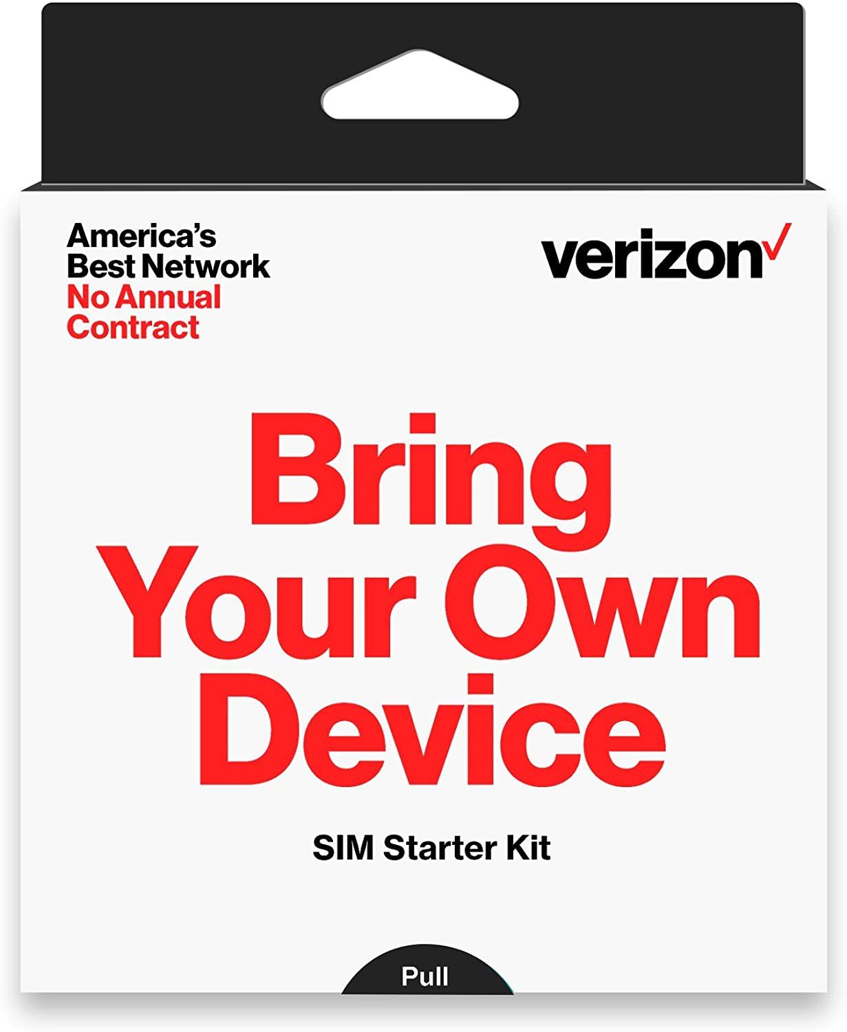 Verizon Prepaid SIM Kit with 3-in-1 SIM (Standard, Micro, Nano)