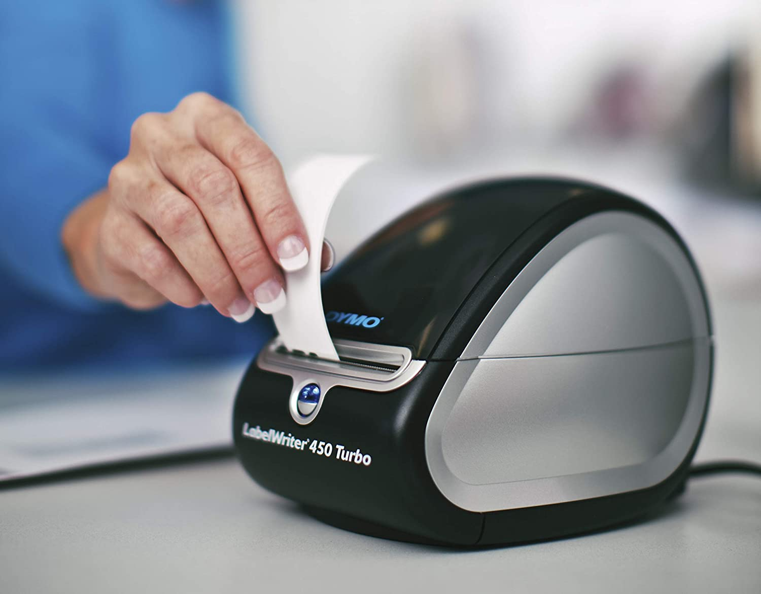 DYMO Label Printer | LabelWriter 450 Turbo Direct Thermal Label Printer, Fast Printing, Great for Labeling, Filing, Mailing, Barcodes and More, Home & Office Organization: Office Products