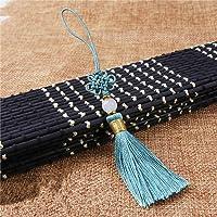 ZYHYCH 5 uds / 10 uds / 20 uds de borlas de cuentas de nudos chinos, colgante de flecos, material para manualidades…