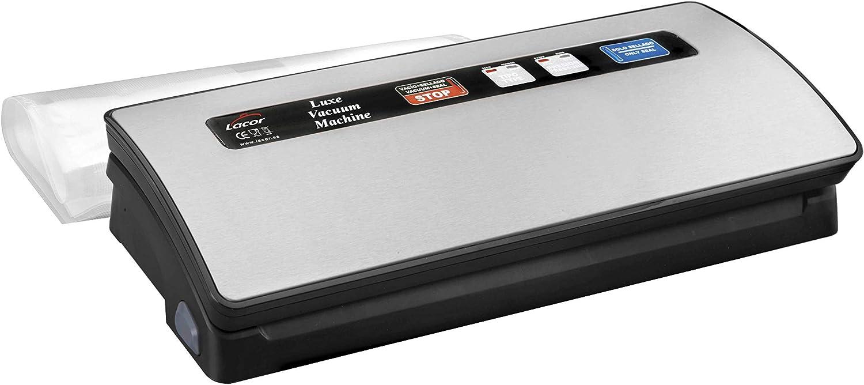 Lacor - 69151 - Máquina vacío Luxe 120 w - Gris