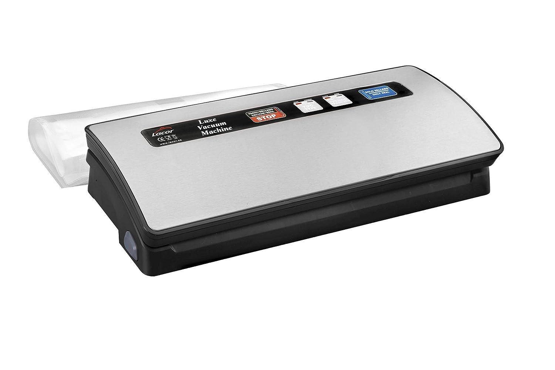 Lacor - 69151 - Máquina vacío Luxe 120 w - Gris: Amazon.es: Hogar