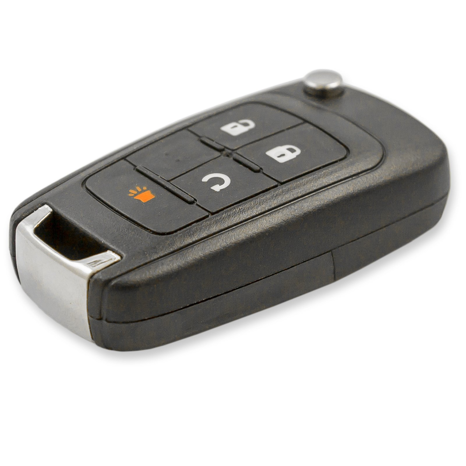Keyless2Go Replacement Keyless Remote 4 Button Flip Car Key Fob For OHT01060512 by Keyless2Go (Image #3)