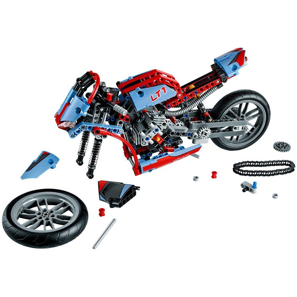 LEGO - Moto Callejera, Multicolor (42036)