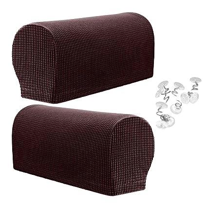 Amazon Com Flameer Slip Resistant Stretch Furniture Armrest