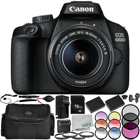 Review Canon EOS 4000D Digital
