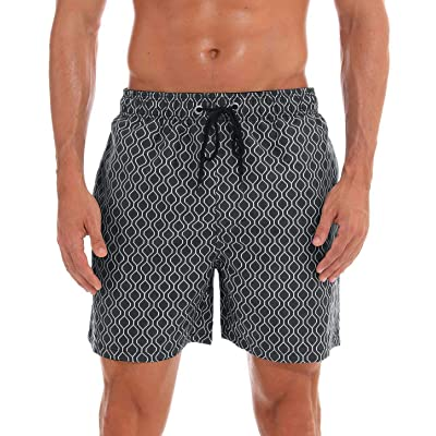 Aivtalk Men Swim Trunks Quick Dry Beach Shorts with Adjustable Waistband Swimwear | Amazon.com