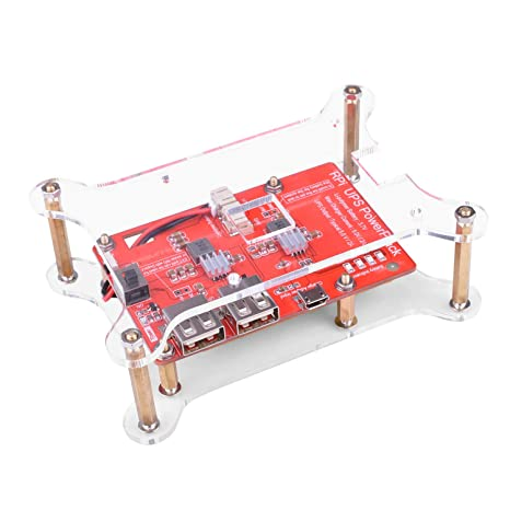Kuman Fuente de alimentación de Batería de Litio con Placa de expansión con Interruptor + Cable ...