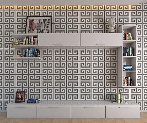 HomeArtDecor - Panneaux Muraux Décoratifs Clés Grecques ...