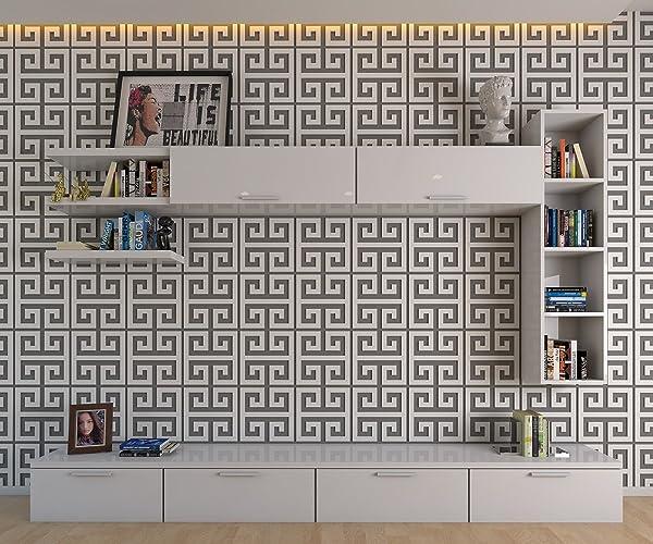 HomeArtDecor - Panneaux Muraux Décoratifs Clés Grecques - Décoration ...