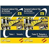 Personal Laboral Fijo Correos - Pack Temario Completo, Resúmenes y Exámenes. Edición Enero 2021 - 2 tomos (Español) Tapa…