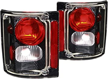 Sold in Pairs Anzo USA 211014 Chevrolet Chrome Tail Light Assembly