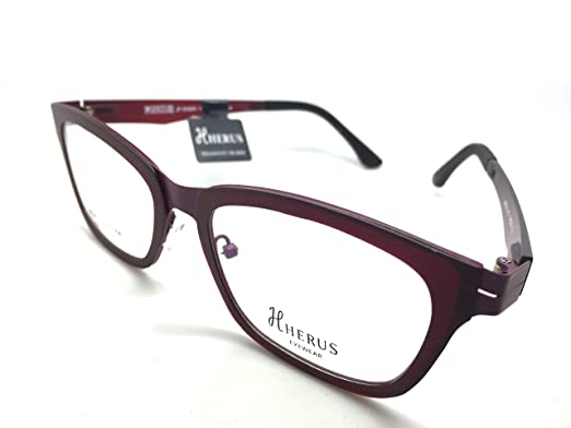 d0c4f6fcb3 Image Unavailable. Image not available for. Color  Hybrid Collection  Prescription Eye Glasses Frame Metal ...