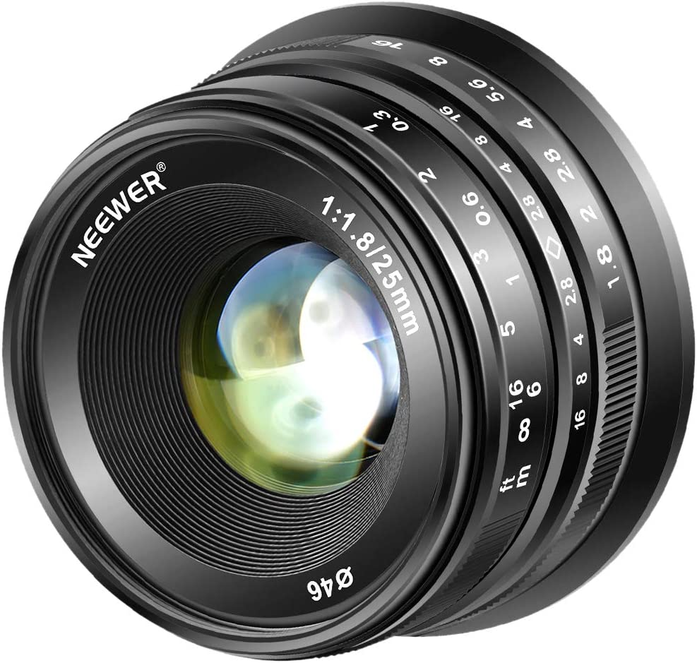 Neewer 25mm F 1 8 Manueller Fokus Haupt Fixierte Kamera