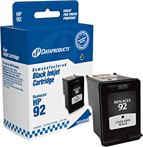 Dataproducts DPC62WN Remanufactured Ink Cartridge Replacement for HP #92 (C9362WN) (Black)