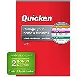 Quicken Home & Business 2019 Personal Finance Software 1-Year + 2 Bonus Months [PC Disc] [Amazon Exclusive]
