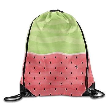 quanzhouxuhuixiefu Colorful Watermelon Drawstring Bags ...