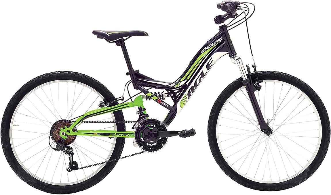 VERTEK Bicicleta 20 MTB Unisex Enduro 6V Negro/Verde: Amazon.es ...