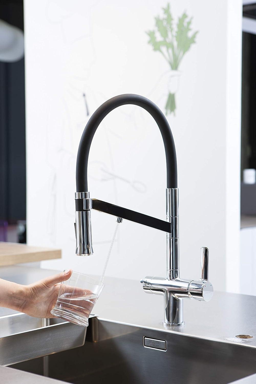Grifo de cocina Chef WT19 para equipos de calidad del agua EcoNature ColdOpen