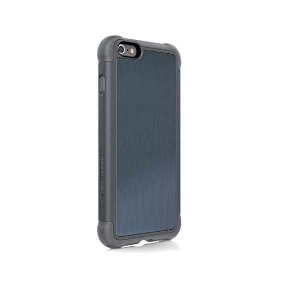 detailed look 3eccf c39d8 Ballistic Tungsten Tough Series Case for Plus Size 5.5-inch Apple iPhone 6  Plus and Apple iPhone 6s Plus - Blue/Gray - Not for Standard Size iPhone ...
