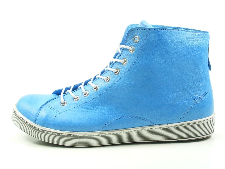 Andrea Conti 0341500 Zapatos de Cuero para Mujer 40 EU|Azul