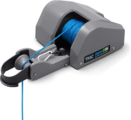 Angler 25 AutoDeploy Anchor <span>Marine Electric Boat Winch</span> (Puller) [TRAC-Outdoor] Picture