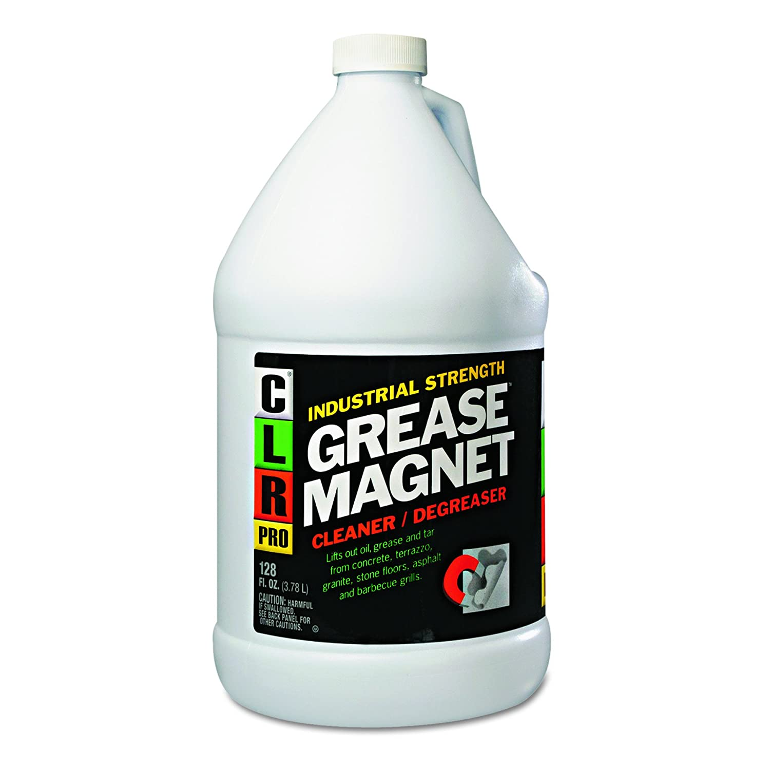 CLR PRO GM4PRO Grease Magnet, 1gal Bottle: Industrial Degreasers ...
