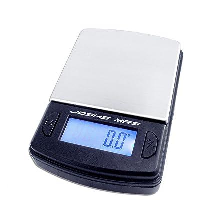Joshs MR1 – Báscula digital de precisión desde 0,1 g hasta 500 g/
