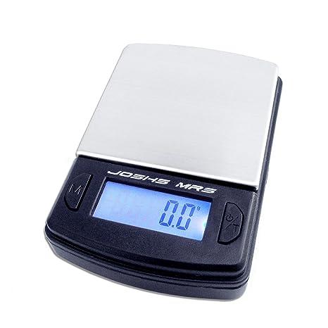 Joshs MR5 Digital Báscula 500 Industrial la Bolsa de 0,5 kg Pesa, o