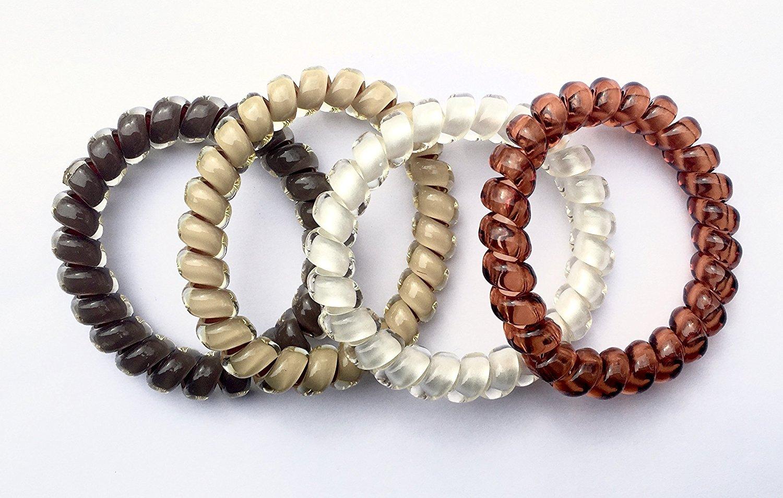 QUANTITY 144 SwirlyDo No Pony Line No Slip - Small Hair Ties ASSORTED colors by SwirlyDo