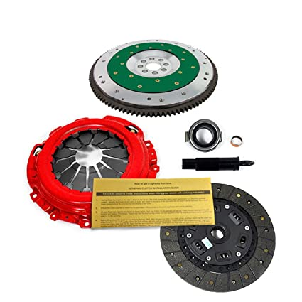 Amazon.com: EFT STAGE 2 CLUTCH KIT+FIDANZA FLYWHEEL ACURA RSX HONDA CIVIC Si K20A K20Z K24: Automotive