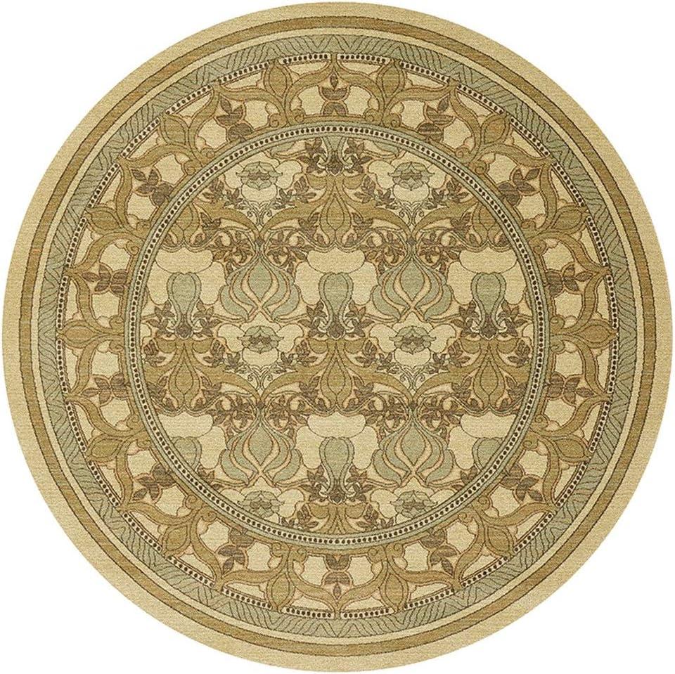 Color : A, Size : 60 * 60cm//23.62 * 23.62in 200cm Coffee Table Mat Tappeto Rotondo Rotondo Nordic Comfort Floor Pad Bagno Tappeti Antiscivolo Tappetino Culla 60//80//100//120//140//160//180