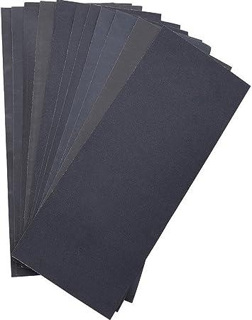 230 x 280mm sec//humide pour pon/çage automobile meubles en bois travail Lot de 20 Papier de verre 1500 grain papier /à poncer /à leau