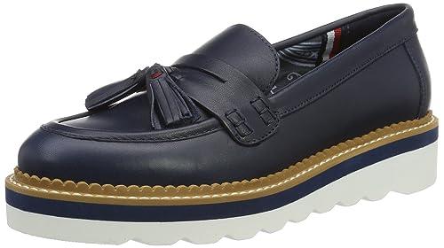 Tommy Hilfiger P1285aulina 1a, Mocasines para Mujer, Azul (Midnight 403), 40 EU: Amazon.es: Zapatos y complementos