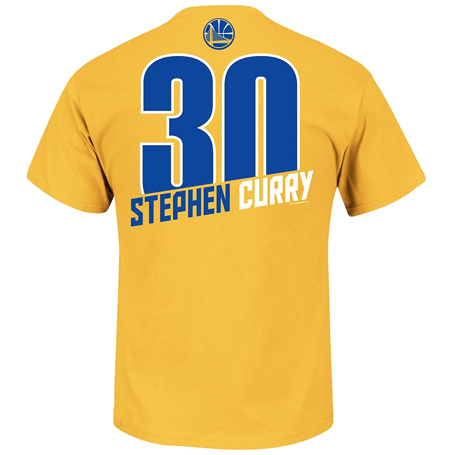 6f589cae3 Amazon.com   Majestic Stephen Curry Golden State Warriors  30 NBA Men s  Record Holder Player T-Shirt Gold (XLarge)   Sports   Outdoors