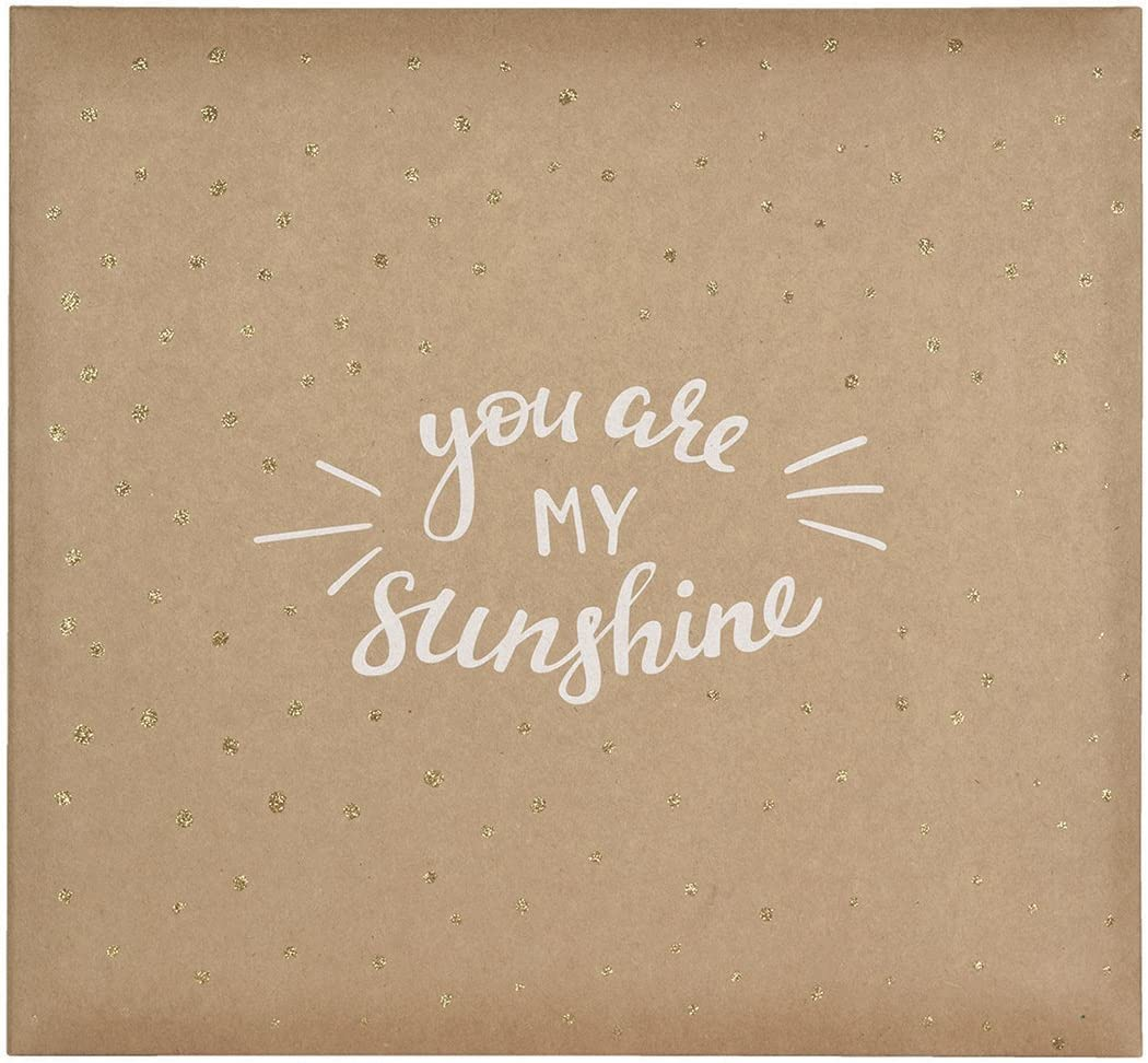 MCS MBI 13.5x12.5 Inch 'You are My Sunshine' Scrapbook Album with 12x12 Inch Pages (860137)
